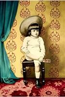boy with flayed foot by marianna gartner