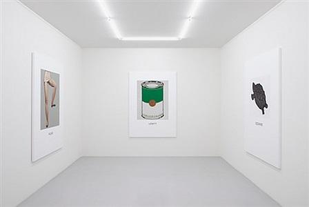 installation view - double vision, 2011 by john baldessari