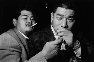 two members of the yakuza, tokyo, asakasa by bruce gilden