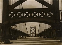 delaware bridge, wilmington by emil otto hoppé