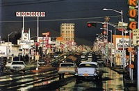 route 66, albuquerque, new mexico, usa by ernst haas
