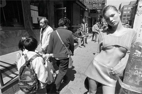 kate moss, new york by glen luchford