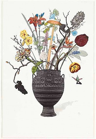 botanical collage #11 by jane hammond