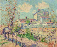 landscape (cagnes-sur-mer, france) by arthur dove