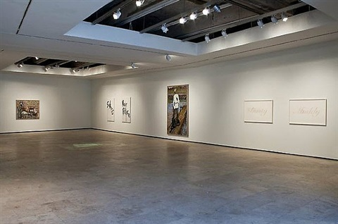 'on shuffle' installation view