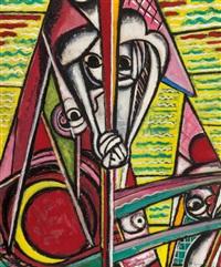 cubist composition by henry lyman sayen