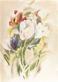tulips by charles demuth