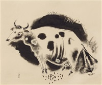 the cow by yasuo kuniyoshi