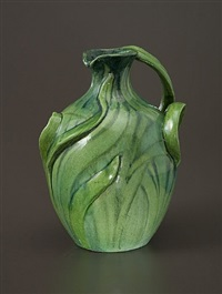 grass handle pitcher by edmond lachenal