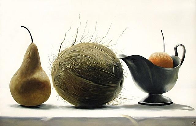 pear and coconut by olga antonova