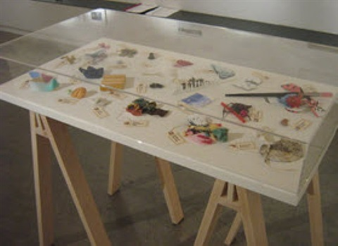 evidence (collected fragments from other artists' work) by robert attanasio