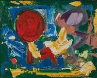 red sun by hans hofmann