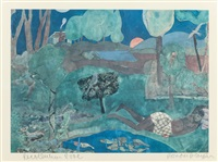 recollection dove by romare bearden