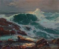 the wave by franz arthur bischoff