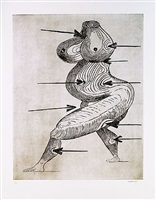 st. sebastienne by louise bourgeois