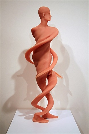 untitled (double helix) by richard dupont
