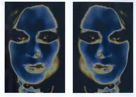 transformer-solarisation 2 a/b by katharina sieverding