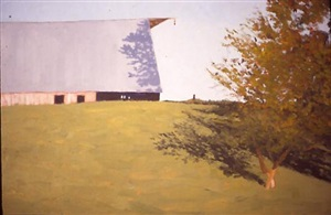 pasture and barn by carl rowe