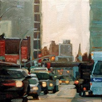 city square (sold) by roxann poppe leibenhaut