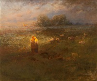 golden afternoon by george inness