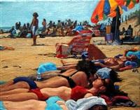 sunbathing by roxann poppe leibenhaut