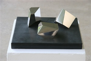 group of three magic stones by barbara hepworth