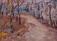 the violet road, old belvedere by selden connor gile