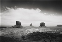 clearing storm, monument valley, az, 1984 by bob kolbrener