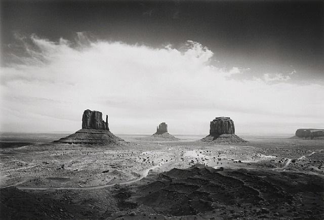 clearing storm, monument valley, az, 1984 by bob kolbrener