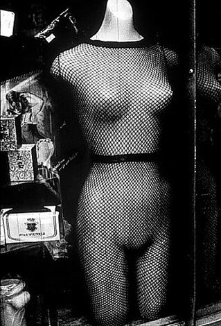 untitled (sex shop window, japan) by daido moriyama