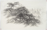 three pines by luo jianwu