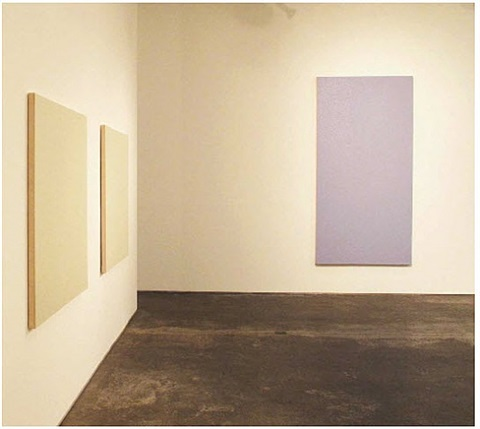 untitled (right purple) by olivier mosset