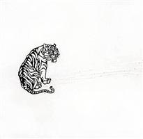 tiger by liliana porter