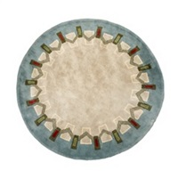 tapis rond by andre leleu
