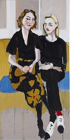 annabell and henrietta (1) by chantal joffe