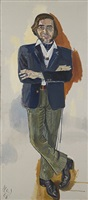 john evans by alice neel