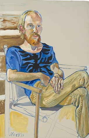 stephen herbert by alice neel
