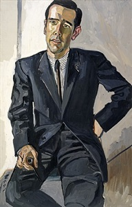 ned mccabe by alice neel