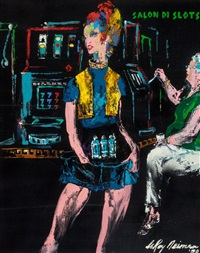 slot change girl (the girls of caesars palace) by leroy neiman