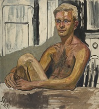 richard gibbs by alice neel