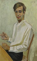 ed ziff by alice neel