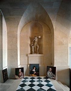 galerie basse, versailles by robert polidori