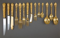 flatware set (set of 168) by c j vander ltd