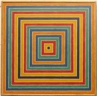 untitled (stella concentric squares) by richard pettibone