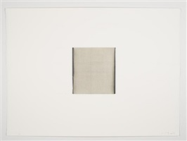 untitled (charcoal black / titanium white) by callum innes