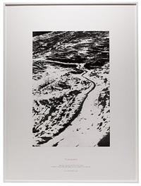 tigerline by richard long