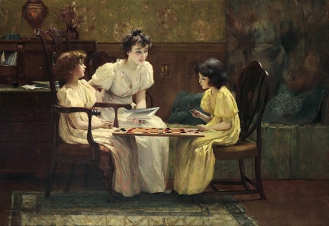 a friendly game by francis coates jones