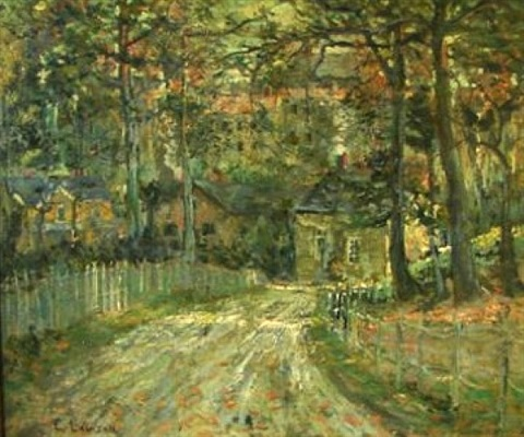 untitled by ernest lawson
