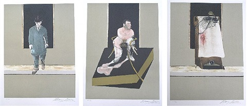 triptych 1967-68 by francis bacon