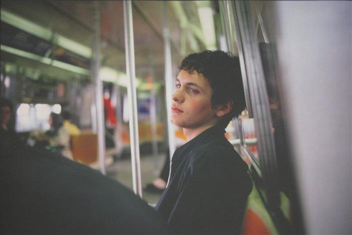 simon on the subway nyc by nan goldin